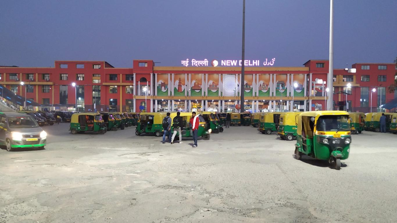 Estación de tren de Nueva Delhi