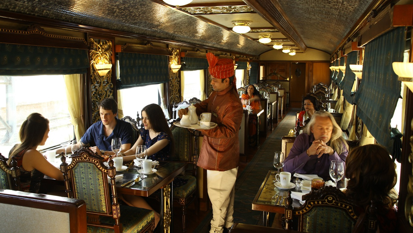 Maharajá Express en la India